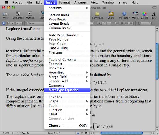Mathtype The Professional Equation Editor